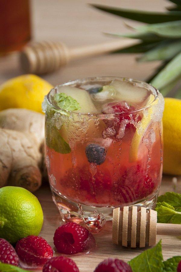 Blueberry Ginger Juice