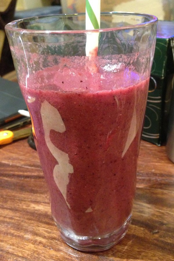 Blueberry and Kale Juice