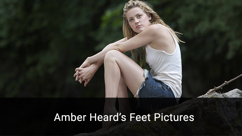 Amber Heard feet