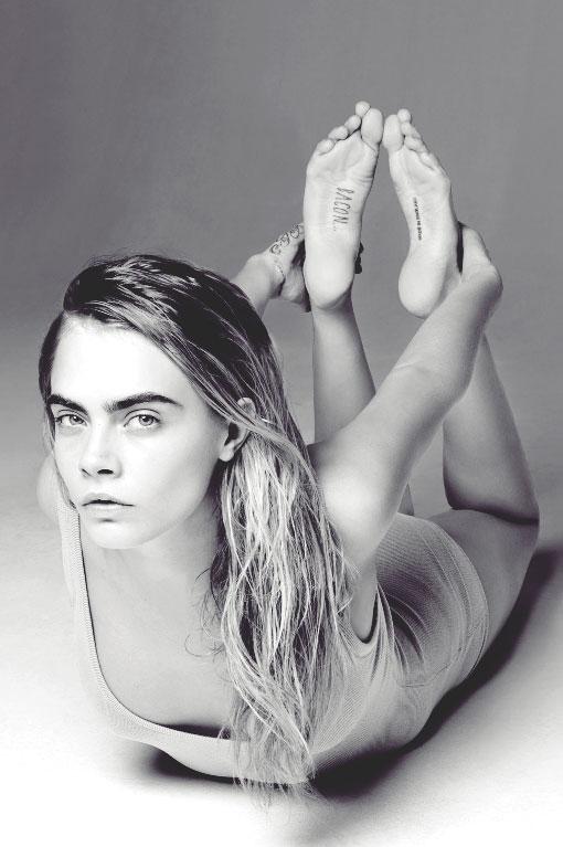 Cara Delevingne Feet 13