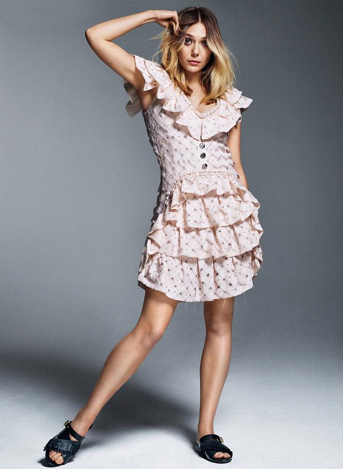 Elizabeth Olsen Hot Feet 3