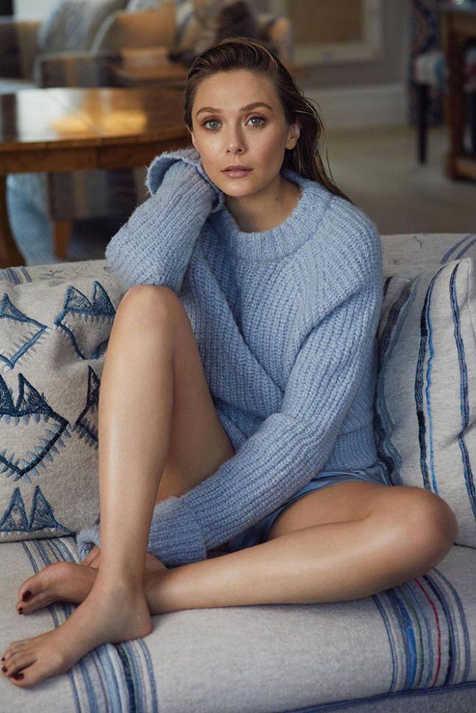 Elizabeth Olsen Hot Feet