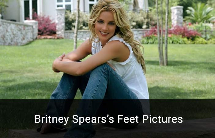 britney spears feet