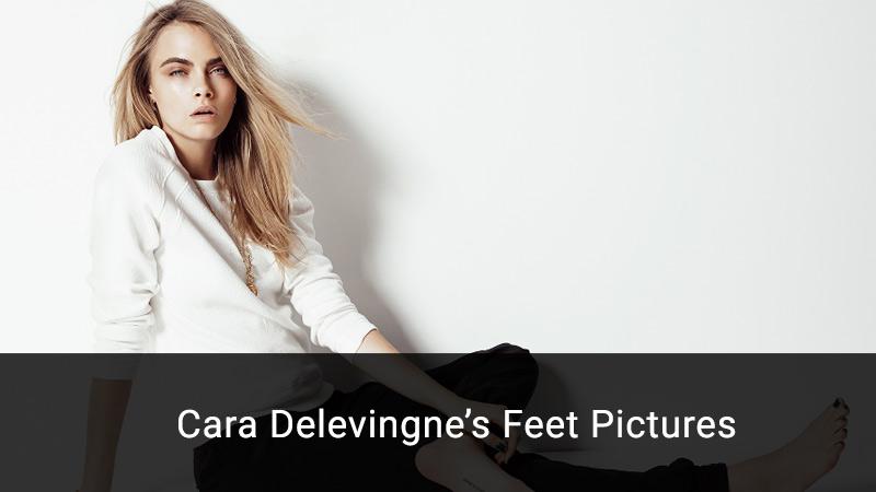 cara delevingne feet
