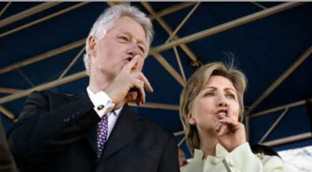 clinton crime family photo on the internet