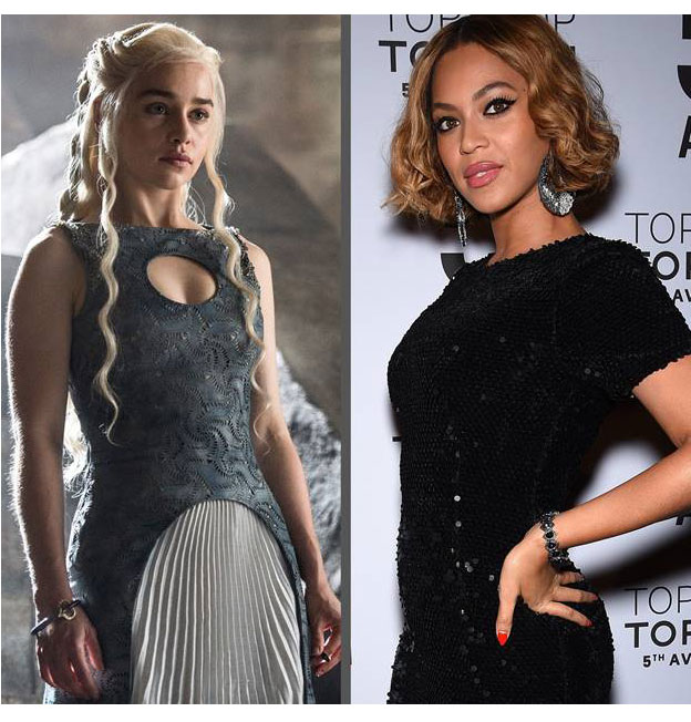 emilia clarke and beyonce
