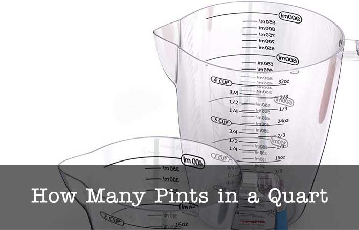 pints to quart