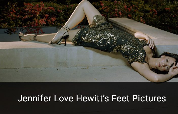 jennifer love hewitt feet