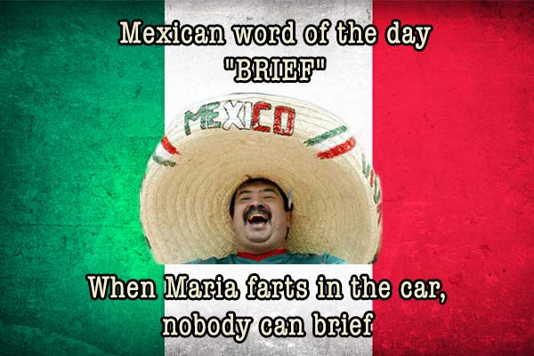 mexican word of the day brief