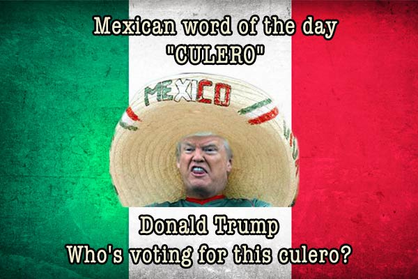 mexican word of the day culero