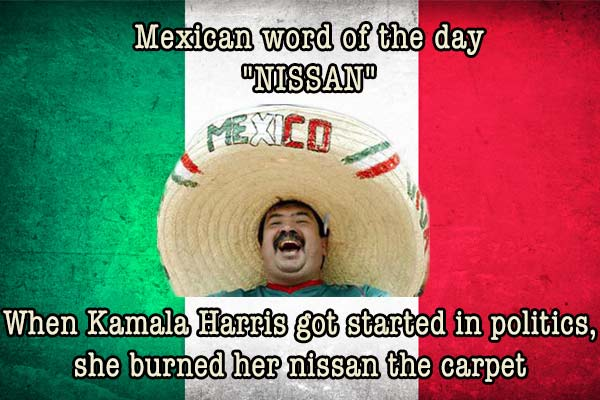 mexican word of the day nissan