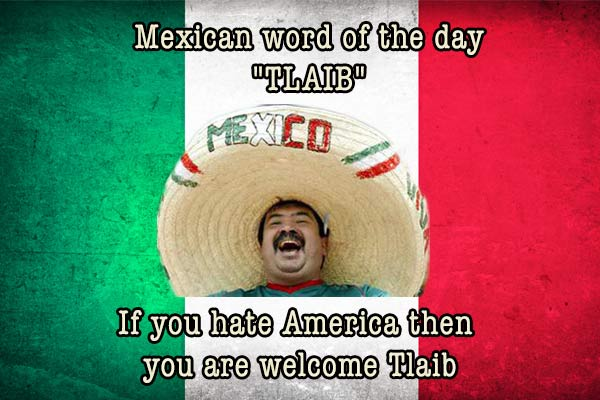 mexican word of the day tlaib