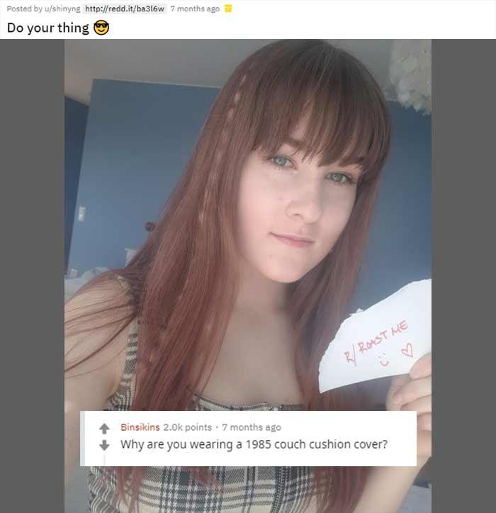 Reddit's Roast Me 17