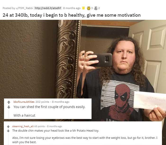 Reddit's Roast Me 16